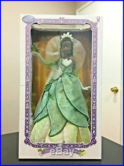 Disney TIANA Limited Edition PRINCESS AND THE FROG DESIGNER LE 5000 17 DOLL