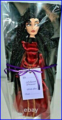 Disney Tangled 12 Inch Deluxe Doll Mother Gothel Villain By Disney Store