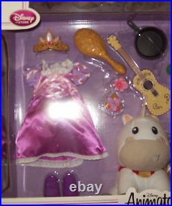 Disney Tangled Rapunzel Deluxe Animator Doll Set NIB