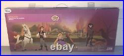 Disney Tangled The Series Deluxe Doll Set Rapunzel Flynn Rider Cassandra Fidella