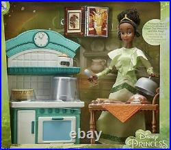 Disney The Princess And The Frog Tiana Doll Restaurant Dining Kitchen Neuf