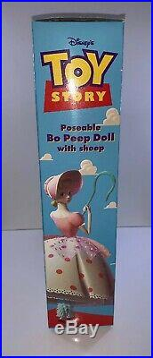Disney Toy Story Poseable Bo Peep Doll With Sheep #62892 NOS NEW Original