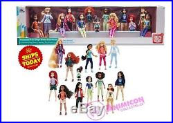 Disney VANELLOPE with PRINCESSES From RALPH BREAKS THE INTERNET DOLL SET IN HAND