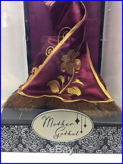 Disney Villains Designer Collection Tangled 11.5 Mother Gothel Doll