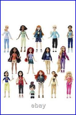 Disney Wreck It Ralph Breaks Internet Princesses Doll BIG Set Elsa Anna Comfy