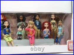 Disney Wreck It Ralph Breaks the Internet Princess Doll Big Set 6 Vanellope NIB