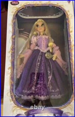 Disney limited edition doll Rapunzel 17 purple gown