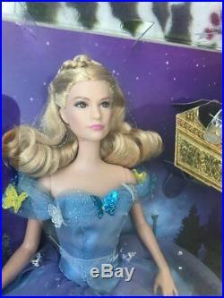Disney mattel 12 Royal Ball Cinderella Doll in Beautiful Blue Princess Dress