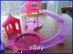 Disney princess Magiclip Castle, Glitter Glider, Magic Clip Doll Castle. RARE