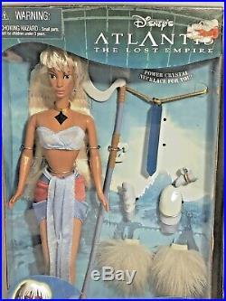 Disney's Atlantis The Lost Empire Crystal Princess Kida & Milo Thatch Dolls
