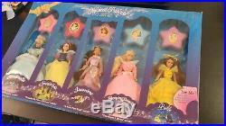Disney's MUSICAL PRINCESS Collection Gift Set, 6.5 Doll Figure, Mattel (NIB)