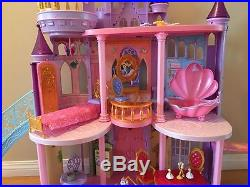Disney's Princesses Ultimate Dream Castle with 10 Dolls and 45 plus Accessories