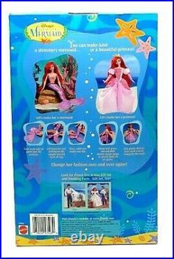 Disney's The Little Mermaid Princess Mermaid Areil Doll by Mattel 1997 NEW