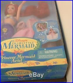 Disneys The Little Mermaid Princess Mermaid Ariel Gift Set VHTF NRFB RARE Blue