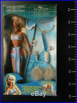 Doll BARBIE Mattel Atlantis Lost Empire Crystal Princess Kida Disney