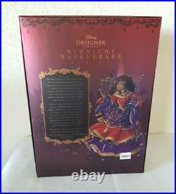 ESMERALDA Disney Princess Midnight MASQUERADE Designer Doll Limited Edition NEW