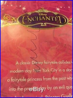 Enchanted Giselle Doll Amy Adams Movie Princess Very Rare Disney Store Version