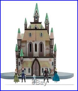 Frozen Castle of Arendelle Palace Playset with Anna Elsa Kristoff Hans Olaf dolls