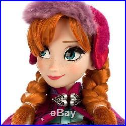 Frozen Disney Store Limited Edition Princess Anna Nordic Doll 17 Le 5000