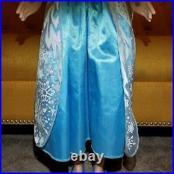 Frozen Elsa Life Size Doll 38 Disney My Size Huge 3 ft Original Shoes & Dress