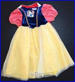 Girls Disney Princess Dress Up Costume Lot 30 Dresses Dolls Accessories + 4 7