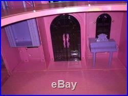 HTF Disney Princess Enchanted Castle Palace Dollhouse Play Set Fits Barbie Dolls