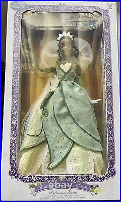 HTF Disney Store Tiana Limited Edition Doll LE 5000 The Princess & The Frog 17