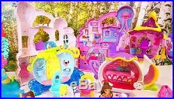 Huge Bundle Disney Princess Little Kingdom Snap-ins Castle Dolls Accessories