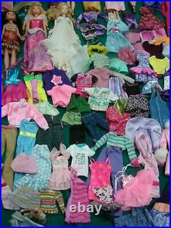 Huge lot Barbie & Friend Dolls Disney Princess Dolls and clothes