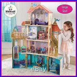 KidKraft Disney Princess Ariel Undersea Kingdom Wooden Dolls house + Furniture