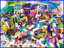 LEGO Friends / Elves / Disney Princess large lot of pieces, mini-dolls, animals