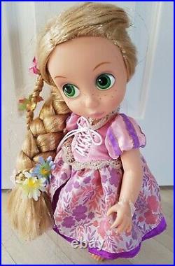 LIGHT UP RAPUNZEL animator doll DISNEY STORE princess SPECIAL EDITION RARE