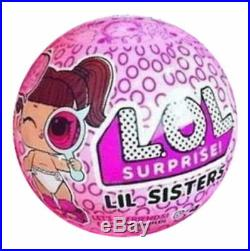 LOL SURPRISE DOLLS Lil Little Sisters Series 4 DECODER CASE BOX of 24 MGA