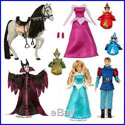 Last One Disney Sleeping Beauty Deluxe Doll Set NIB