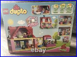 Lego Duplo Play Doll House 10505 two 2 story home Family kids build Imagine