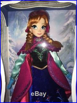 Limited Edition Anna Doll 2014 Disney Store Frozen