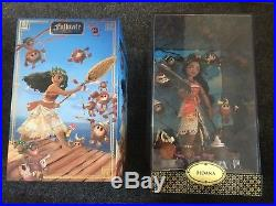 Limited Edition Disney Designer Moana Doll Folktale Designer Collection