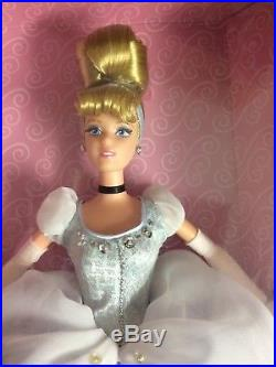 Limited edition by Mattel Disney princess dolls, 4 lot dolls