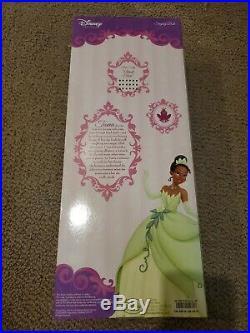 Lot Of 4 Disney Princess Singing Dolls Tiana Belle Jasmine Cinderella Brand New