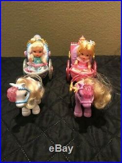 Lot Vintage Disney Baby Princess Royal Nursery Pram Parade Sweet Dreams Crib