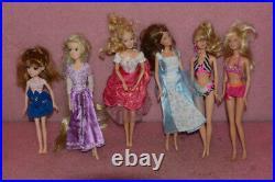 Lot of 21 Barbie / Disney Doll Lot