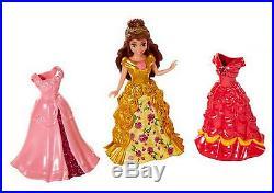 MATTEL Disney Princess MagiClip Dolls & Dresses Shimmer Fashion Set Merida NIB