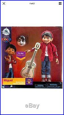 MIGUEL figure COCO doll DISNEY PIXAR rivera GUITAR store EXCLUSIVE SET SINGING