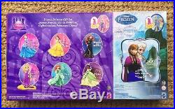 Magiclip Dolls Tiana Merida Frozen Belle 8 Pack Gift Set Disney Princess Mattel