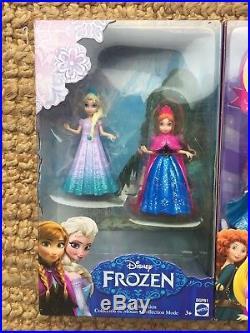 Magiclip Dolls Tiana Merida Frozen Belle 8 Pack Gift Set