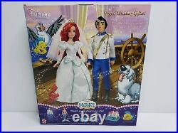 Mattel Disney Princess The Little Mermaid Royal Wedding Gift Set J9569 2006