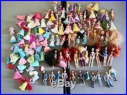 Mattel disney Mini princess dolls Fairy Figures Lot Huge