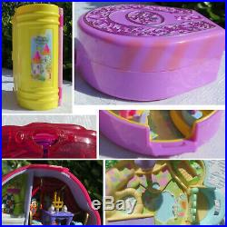 Mini Polly Pocket Rose Blubber Ice Skating Princess Palace Rodeo Disney Dosse