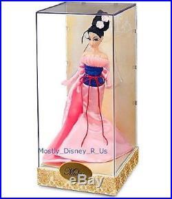 Mint Disney Store Princess Mulan Designer Doll LE 2798/6000 Limited Edition NEW