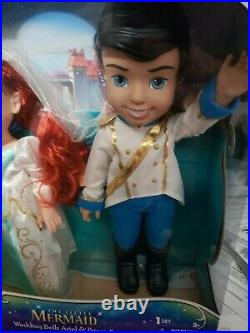 My First Disney Princess Little Mermaid Wedding Bells Ariel & Prince Eric